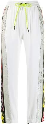 Iceberg sequinned logo track trousers