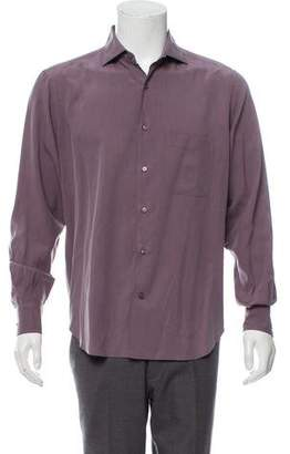 Loro Piana Silk Button-Up Shirt