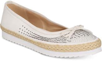 Callisto Pringle Slip-On Espadrille Flats Women Shoes