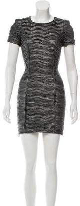 Torn By Ronny Kobo Ruched Bodycon Dress