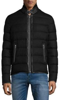 The Kooples Padded Flannel Jacket