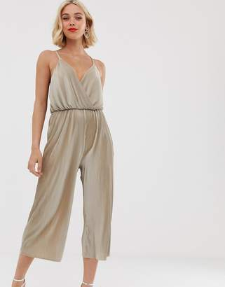 Love strappy cross over culotte jumpsuirt