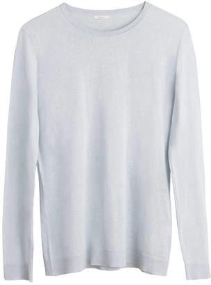 Cuyana Cotton Cashmere Crewneck Sweater