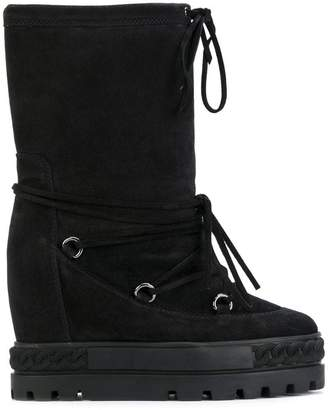 Casadei lace-up Chaucer boots