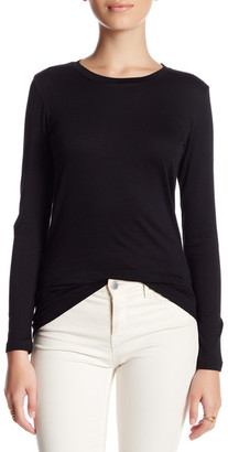 SUSINA Long Sleeve Crew Neck Tee (Petite) $12.97 thestylecure.com