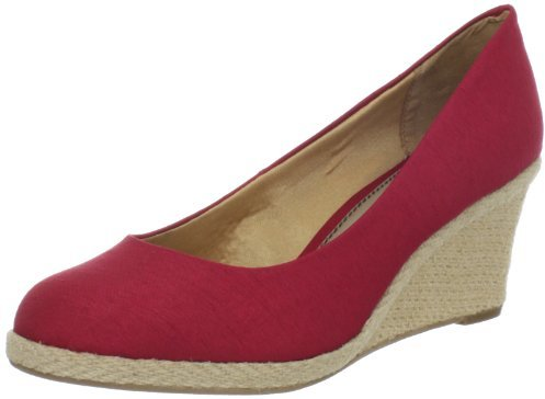 LifeStride Women's Costume Espadrille,Red,5.5 M US