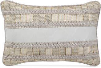 "Croscill Kassandra 18"" x 12"" Boudoir Decorative Pillow"