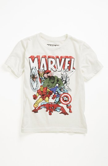 JEM 'Marvel 6th Group' Thermocolor T-Shirt (Toddler Boys)