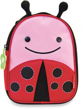 Bed Bath & Beyond SKIP*HOP® Zoo Lunchies Insulated Lunch Bag - Ladybug