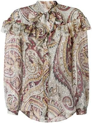 Etro paisley patterned blouse