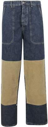 Loewe Knee Patch Jeans