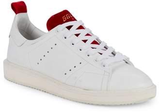 Golden Goose Starter Velvet & Leather Sneakers