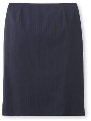 INDIVI (インディヴィ) - インディヴィ シャドーストライプタイトスカート