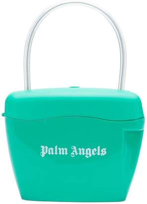 Palm Angels printed logo tote bag