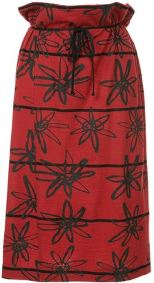 Comme des Garcons Pre-Owned rubber flower skirt