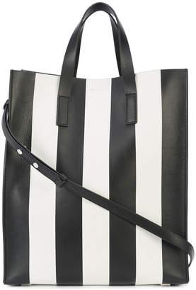 Michael Kors striped tote bag