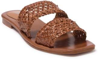 Jeffrey Campbell Rhett Woven Double Band Slide Sandal