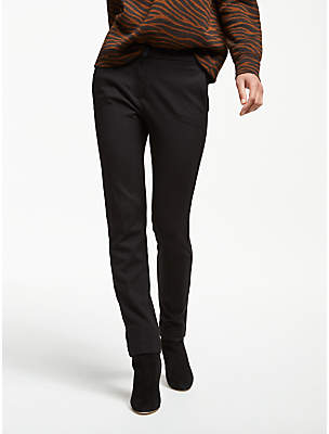 Max Mara Weekend Morgana Jersey Cigarette Trousers, Black