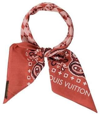 Louis Vuitton On The Road Bandana Scarf
