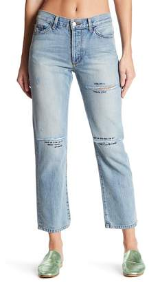 Siwy Denim Jane B. Distressed Straight Leg Jeans