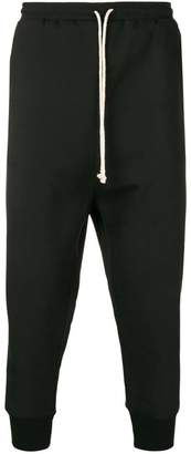 Alchemy drop crotch tapered trousers