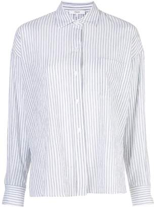 Vince tailored pinstripe shirt