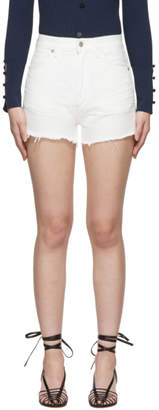 Citizens of Humanity White Kristen Shorts