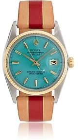 Rolex La Californienne Women's 1974 Oyster Perpetual Datejust Watch-Turquoise