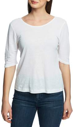 5980d926342bc Knotted White Shirt - ShopStyle