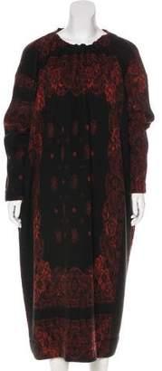 Hache Wool Midi Dress w/ Tags
