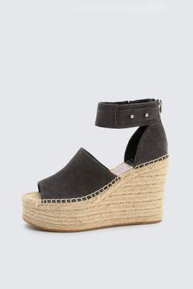 Dolce Vita Anthracite Suede Wedge