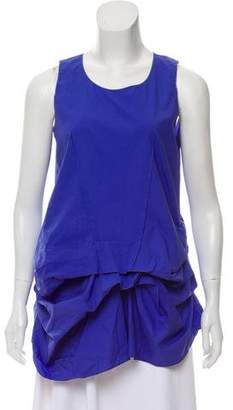 Marni Ruched Sleeveless Top