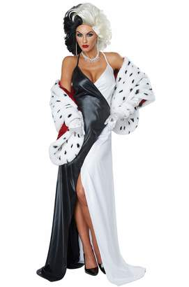 California Costumes California Costume Collections Womens Cruel Diva Disney Costume size XS 4-6