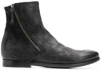 Silvano Sassetti side-zip ankle boots