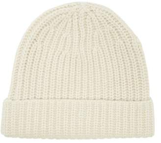Joseph Ribbed Wool Beanie Hat - Womens - Ivory