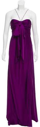 John Galliano Sleeveless Evening Dress