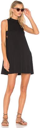LA Made Kim Tank Dress in Black $92 thestylecure.com