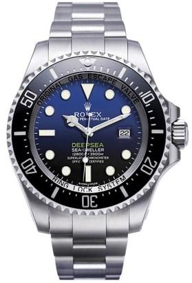 Rolex Deepsea Custom Blue Dial 116660 Mens Watch $14,195 thestylecure.com