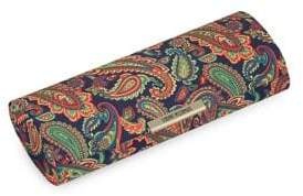 Corinne McCormack Paisley Printed Oval Glasses Case