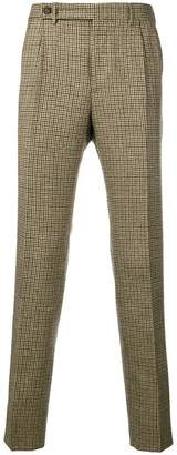 Berwich houndstooth tailored trousers