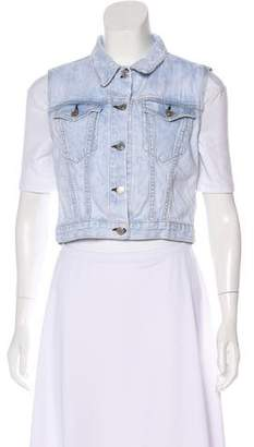 Rag & Bone Sleeveless Denim Vest