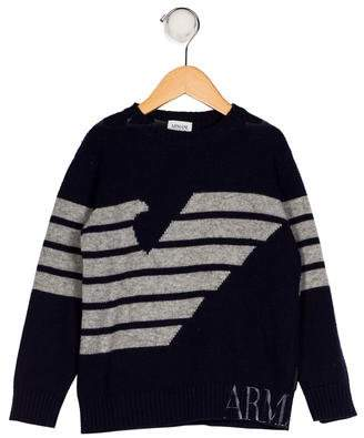 Armani Junior Boys' Wool-Blend Sweater
