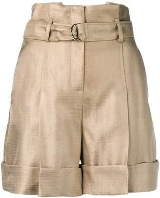 Karl Lagerfeld Paris high-waist shorts