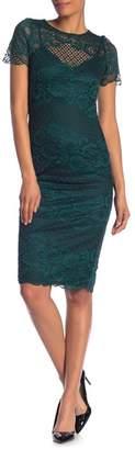 Donna Ricco Floral Lace Dress