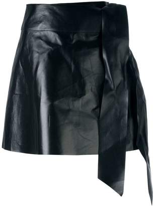 Valentino tied mini skirt
