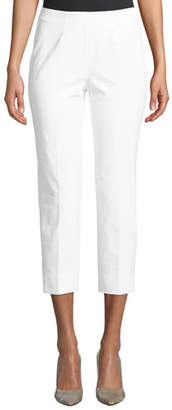 Piazza Sempione Audrey Cropped Straight-Leg Pants