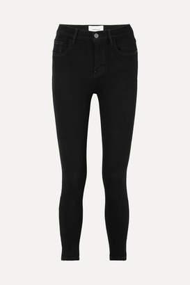 Current/Elliott - Stiletto High-rise Skinny Jeans - Black