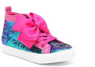 Jo-Jo Ground Up Jojo Siwa Toddler & Youth High-Top Sneaker - Girl's