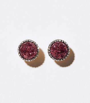 LOFT Crackle Stud Earrings