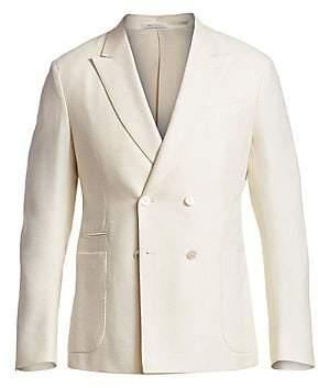 Ermenegildo Zegna Men's Solid Wool Jacket